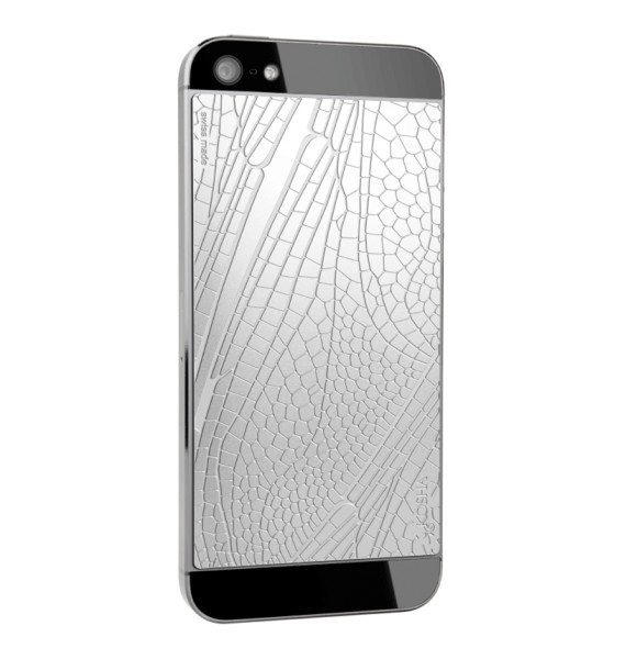 DRAGONFLY Stainless Steel - Engraved metal plate for iphone 5/5s
