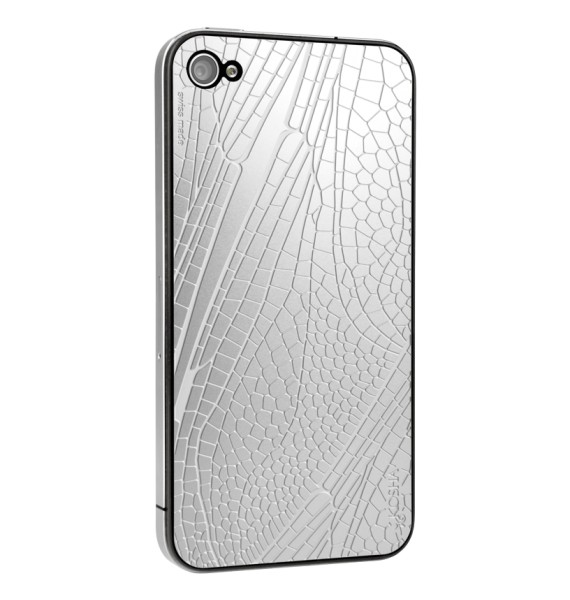 DRAGONFLY Stainless Steel - Engraved metal plate for iphone 4/4s